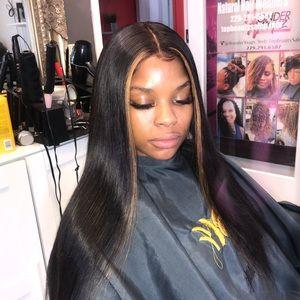 360 frontal wig virgin hair